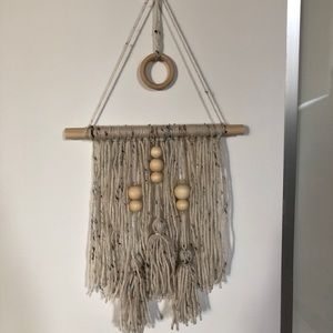 Other - Boho wall hanging